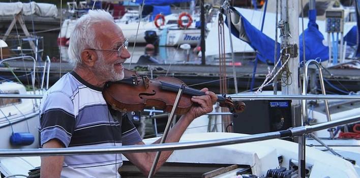 Henryk Widera, czyli skrzypek na jachcie