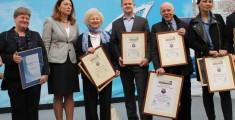 Laureaci Nagrody Przyjaznego Brzegu, targi Wiatr i Woda w Warszawie