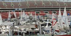 Na płycie Stadionu Narodowego zakotwiczyły najpiękniejsze jachty
